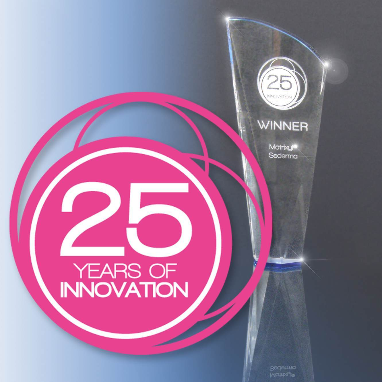 Sederma 25 years of innovation award